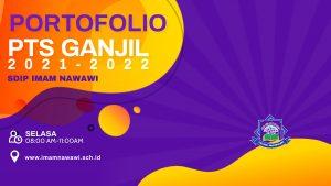 Portofolio PTS Ganjil 2021-2022